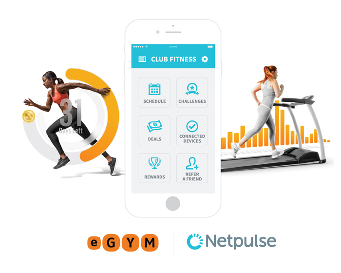 Netpulse announces collaboration with eGym