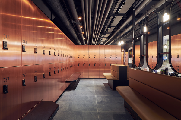 Third Space has invested in high-end design and valet service in its changing rooms