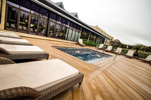 The Spa at Ramside Hall Hotel in Durham, UK has added an outdoor spa garden and vitality pool / Ramside