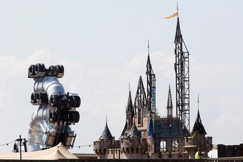 Dismaland is rumoured to be opening to the public this week
