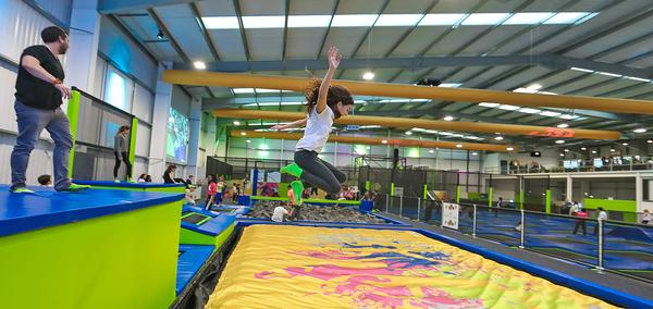 Trampoline parks have been steadily growing in popularity with kids and adults alike