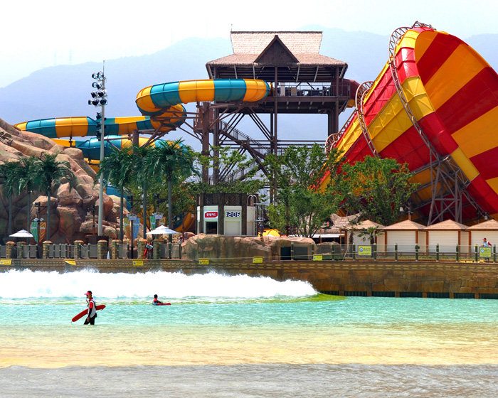 Whitewater supplies successful opening of Lotte World waterpark