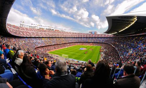 For the New Camp Nou development, AECOM, Populous and BIG are among those listed / Shutterstock.com
