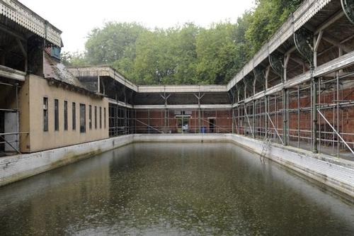 Historic Lido in Reading, UK, to undergo structural repairs before spa development begins