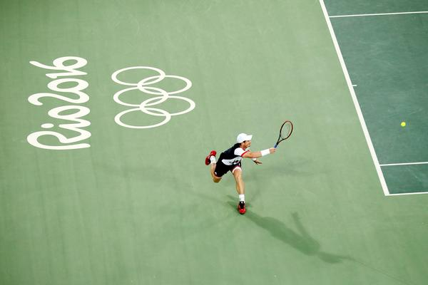 Andy Murray won gold in Rio – while the LTA received £3.7m to support GB talent / owen humphreys /PA