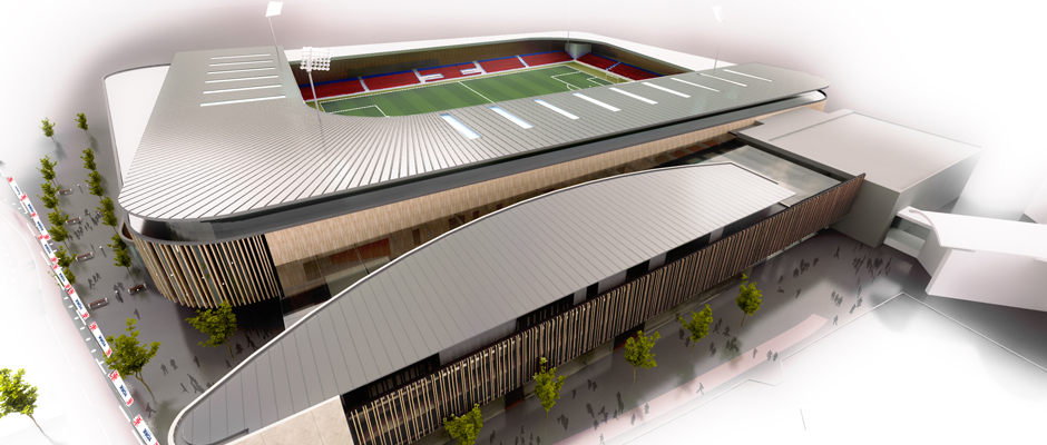 New community stadium being built as part of £90m development in York