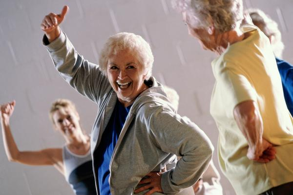 Social interaction is as beneficial for seniors as the exercise itself