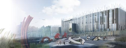 Kris Yoa's winning design will incorporate the site's historical, cultural and geographical features / Kris Yoa | Artech