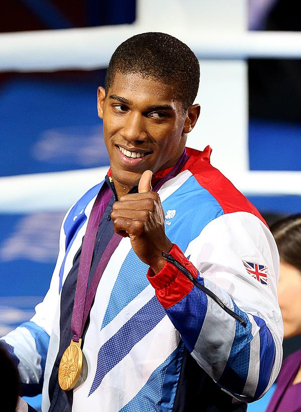 Successful athletes from BAME backgrounds, such as Anthony Joshua, are valuable role models / Image ©: Julien Behal / Press Association Images