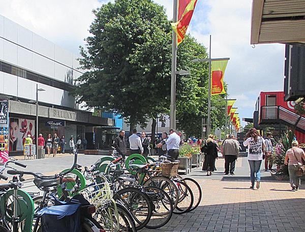 The plan prioritises pedestrians and public transport