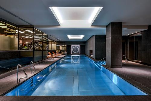 The fitness centre will be available to a limited private membership  / Mandarin Oriental Hyde Park, London