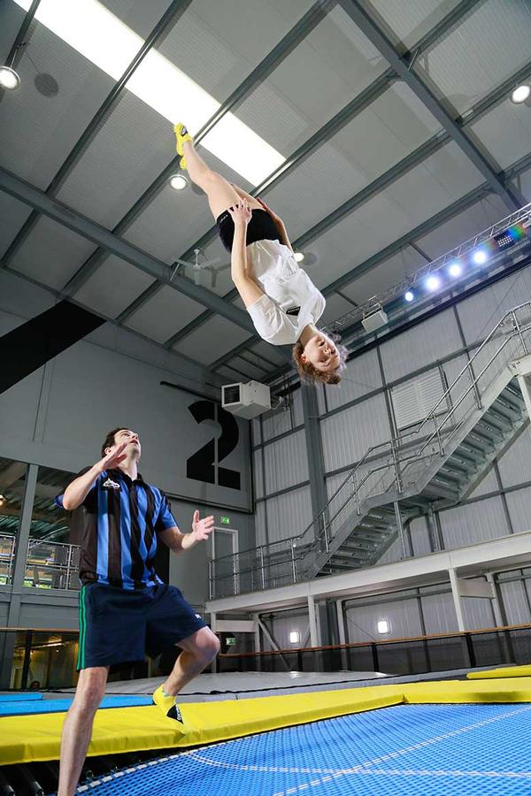 With supervision, trampolining is statistically safer than other sports