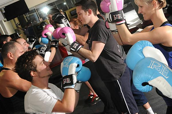 Boxing and boot camps in particular are attracting men to the new club