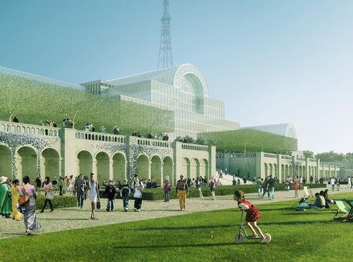 Zaha Hadid in contention to recreate London's Crystal Palace