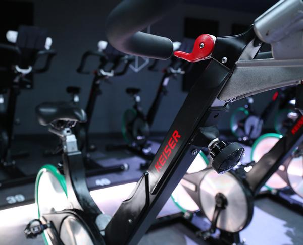 Keiser's bikes have TUV certification for their calibration