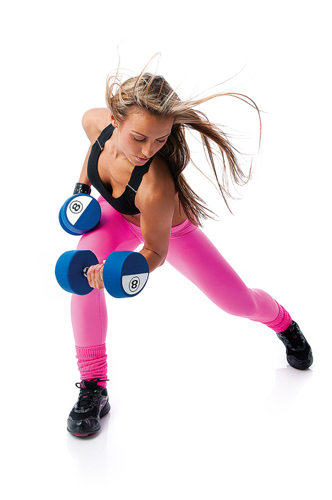 Free weights are being used by a broader demographic