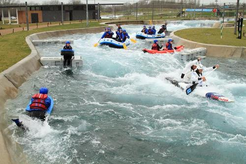 The facility will become a permanent home to GB Canoeing's Slalom team / Lee Valley White Water Centre