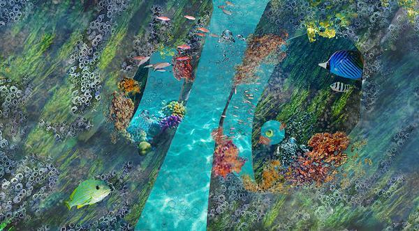 Blue Habitat project is an arficial coral reef aiming to raise awareness