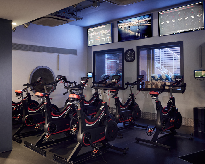 Wattbike zones have been set up in each of the gyms