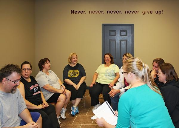 Topics covered in classes include goal setting, nutrition and emotional eating