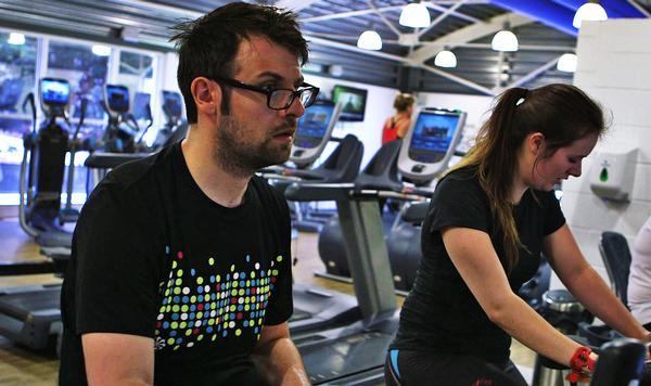 Journalist Will Wood suffered a bleed on the brain, yet defied medical expectations by using Precor's treadmill to regain his physical abilities
