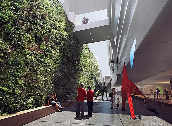 The SFMOMA - New entrances will also make the museum accessible from every direction / SFMOMA IMAGES: © SNOHETTA & MIZ