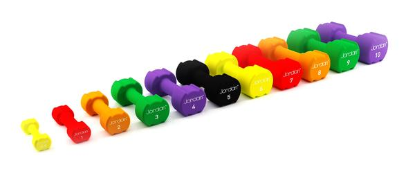 Ignite range of studio dumbbells