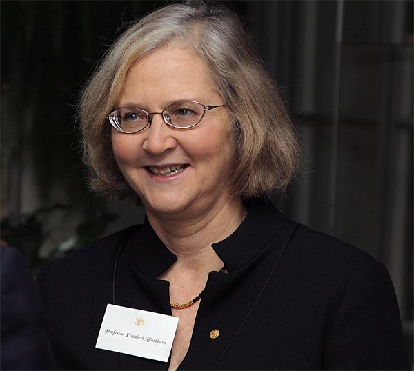 Elizabeth Blackburn was awarded the 2009 Nobel Prize in Physiology or Medicine