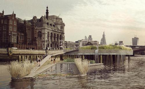 Crowdfunding campaign for swimming pool in London's Thames