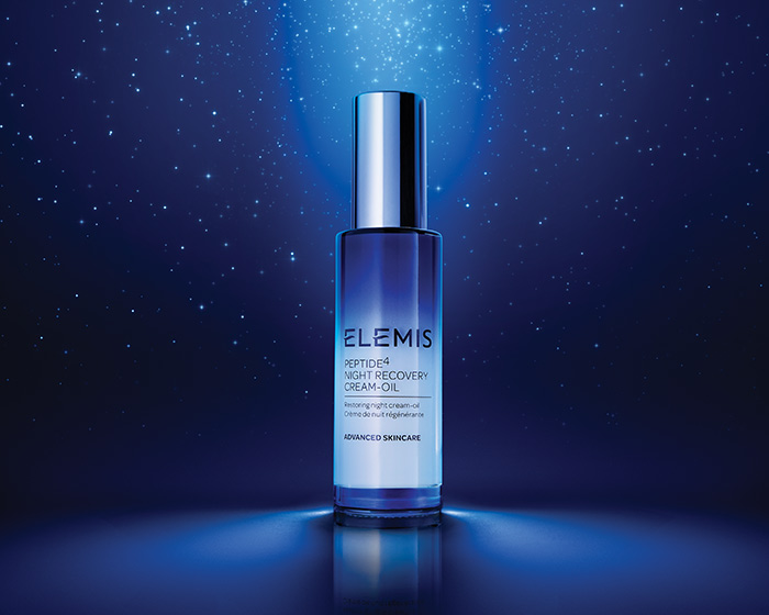 ELEMIS unveils Peptide4 Night Recovery Oil-Cream