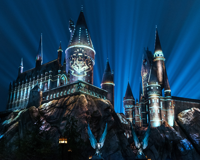 Universal Resort's new projection show to light up Hogwarts Castle