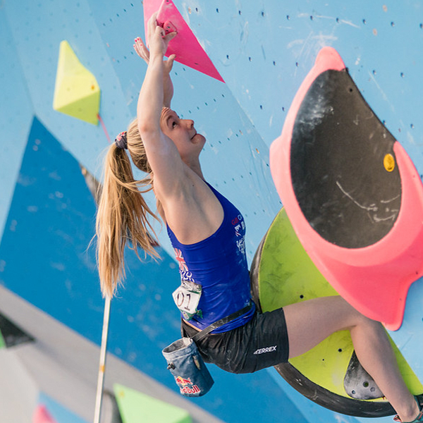 Climbing appeals most to 25- to 35-year-olds / © IFSC/Eddie Fowke
