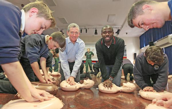 Ex-footballer Fabrice Muamba now raises awareness of sudden cardiac arrest / © Matt Alexander/PA Archive/PA Images