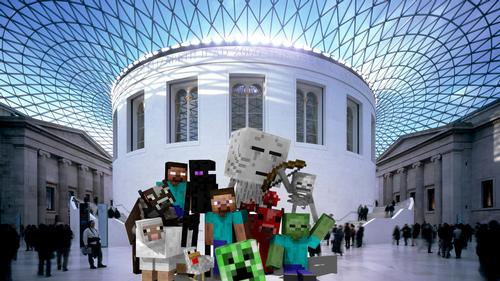 The British museum wants Minecraft users to rebuild the entire institution in-game