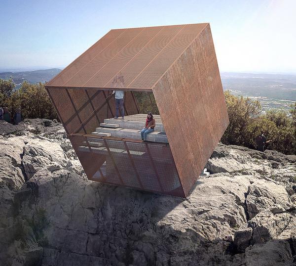 Christophe Benichou designed the Tip-Box as a 30th birthday present for a fellow architect friend / Christophe Benichou