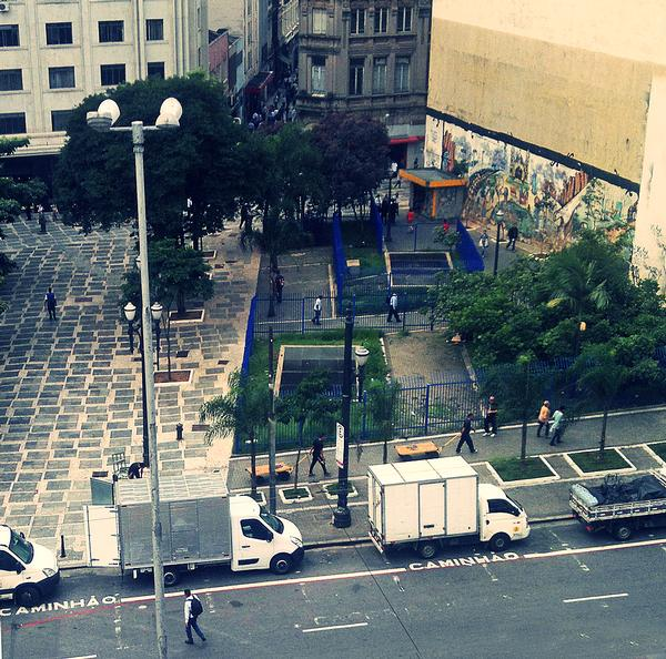 Gehl's work with Sao Paolo focused on reclaiming the city for pedestrians