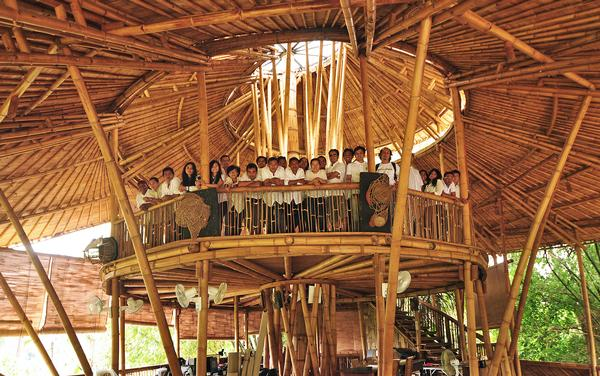 Ibuku staff work across architecture, graphics, interior design, furniture, landscaping and permaculture.