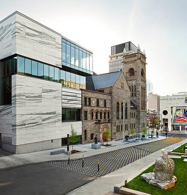 The Montreal Museum of Fine Art's Bourgie Pavilion of Quebec and Canadian Art by Provencher Roy