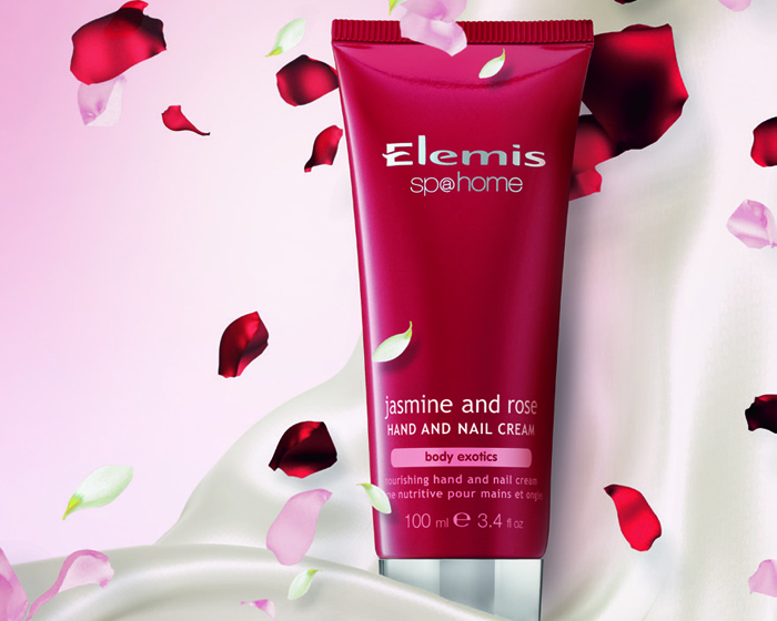 Jasmine and rose at heart of Elemis' hand and nail cream