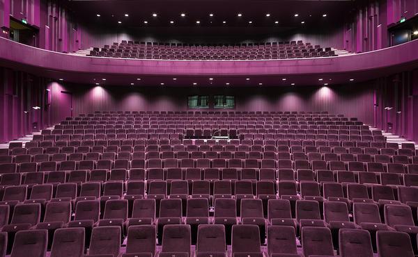 The main auditorium
