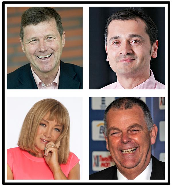 Keynote Speakers - Top left: Hans Muench, Top right: Ray Algar, Bottom left: Kellie Maloney Bottom left: Geoff Miller