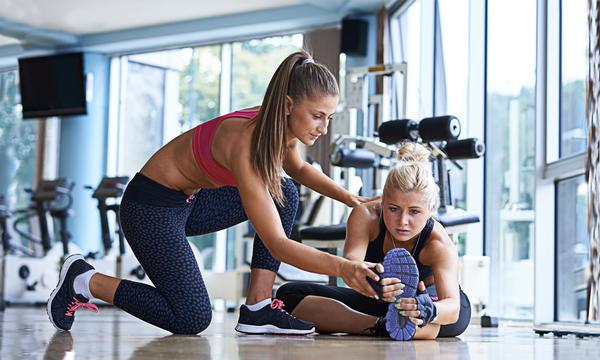 The new Virtuagym app makes it quick and easy to book a PT session / PHOTOS: Shutterstock.com