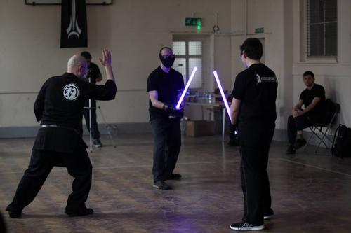 Star Wars fever sparks lightsaber fitness class craze