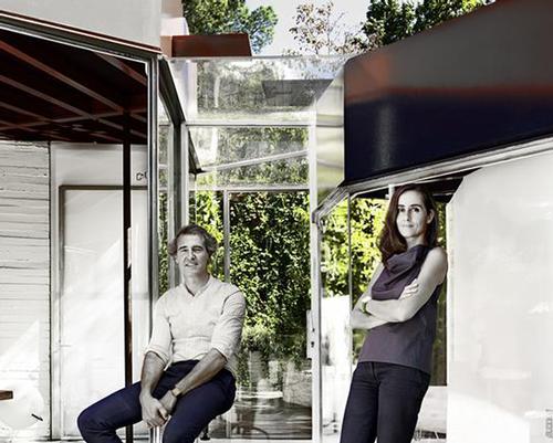 SelgasCano Studio's directors, José Selgas and Lucía Cano. / SelgasCano Studio
