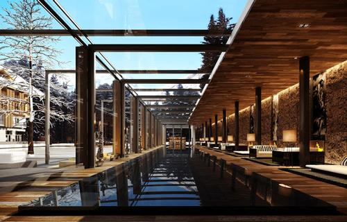 Thermal facilities include a bio sauna, finnish sauna and steambath, plus an outdoor lap pool and indoor 35m (116ft) swimming pool / Chedi Andermatt