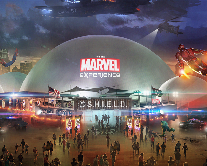 "Alterface building ""gaming cinema"" for Marvel attraction"