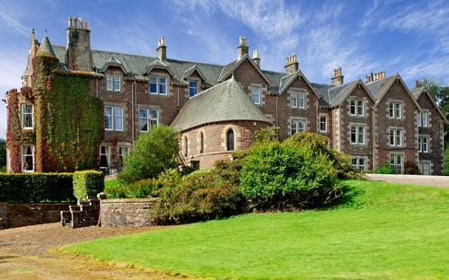The five-star Cromlix Hotel has opened its doors following a one-year refurbishment / Cromlix