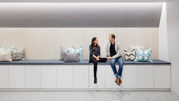 Well designed spaces can encourage social interaction