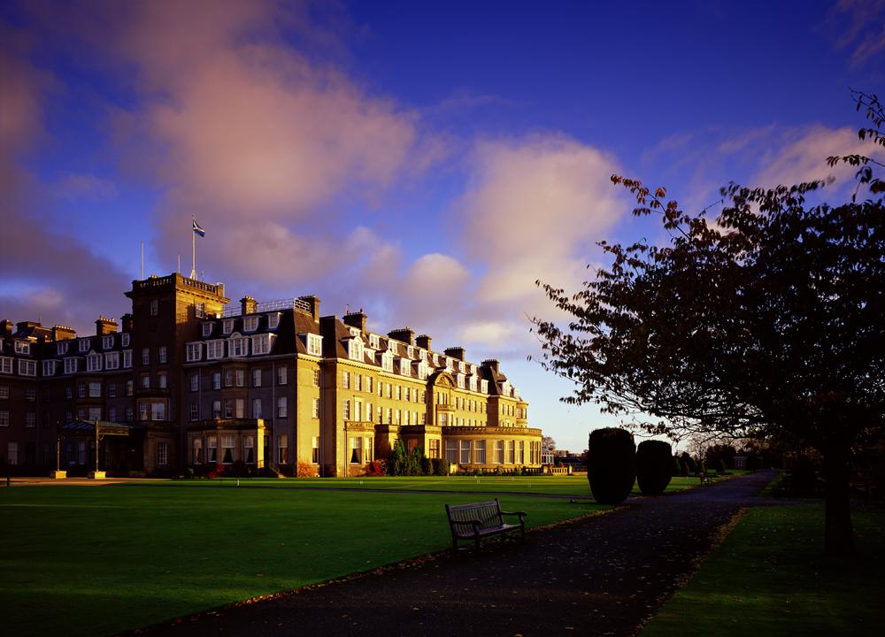 Gleneagles is located in Perthshire, Scotland