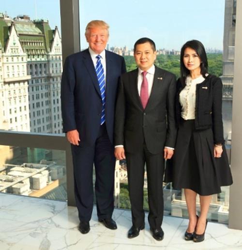 Donald J. Trump, Hary Tanoesoedibjo & Liliana Tanoesoedibjo of MNC Group / Trump Hotels